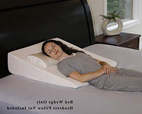 """InteVision Extra Bed 2"""" Memory Layer Foam Relief for Post Surgery, & Back"""