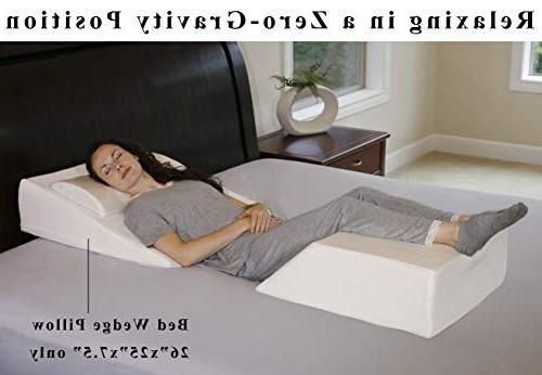 InteVision Pillow - Foam Top Layer Firm a Cover - Helps Relief Acid Snoring,