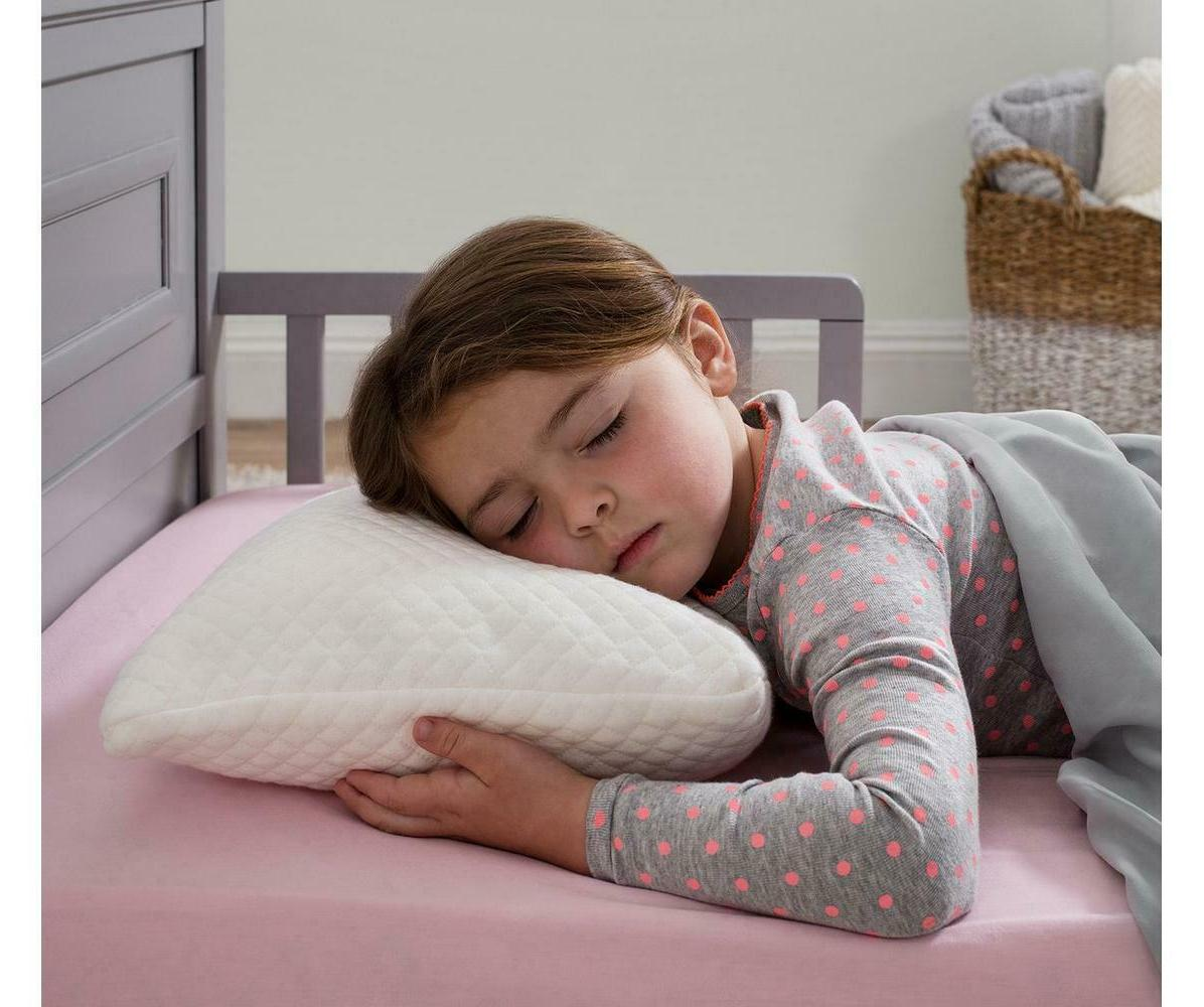 InteVision Folding Bed Wedge Pillow  - Dual layer Memory Foa