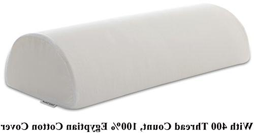 InteVision Four Position Support Pillow  with 400 Thread Cou