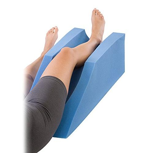 Procare Leg Elevator Cushion Elevation Pillow Injury, or 10in 31.5in Length Blue