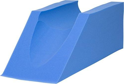 Procare Leg Cushion - Elevation Injury, or Rest - 10in 31.5in Length Blue