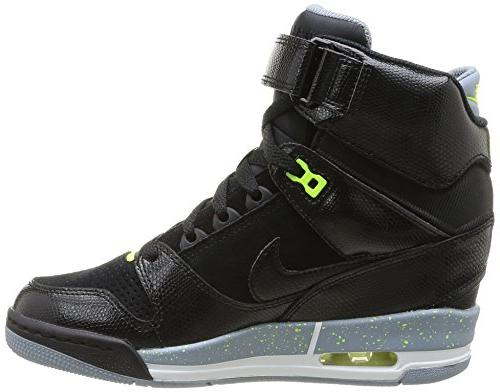 Nike Women's Air Sky Hi Black/Black/Magnet Grey/Volt Casual US