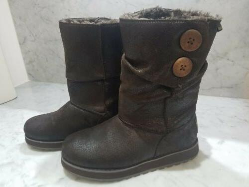 australia keepsakes faux leather mid calf boots