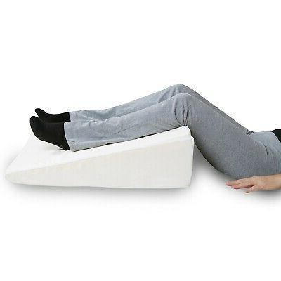 """Support Bed Memory Pillow Washable, Removable 8"""" H"""