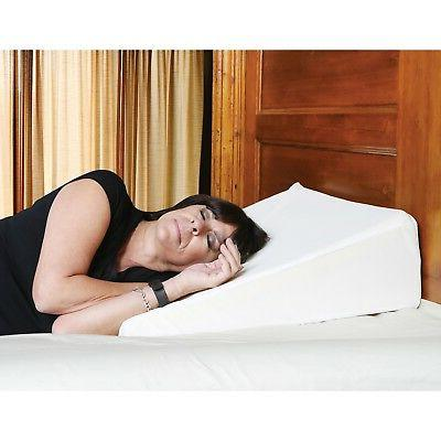 """Support Memory Foam Pillow Washable, Removable 8"""""""