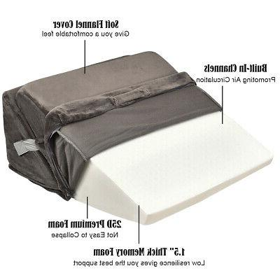 Bed Wedge Sleeping W/ Cover Folding