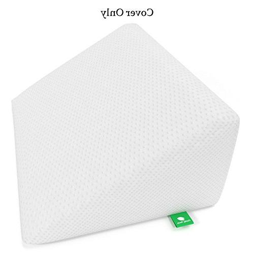 bed wedge pillow replacement cover