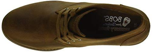 Skechers BOBS Weed-Goin West. Microfiber Bootie w Ankle Boot, M US