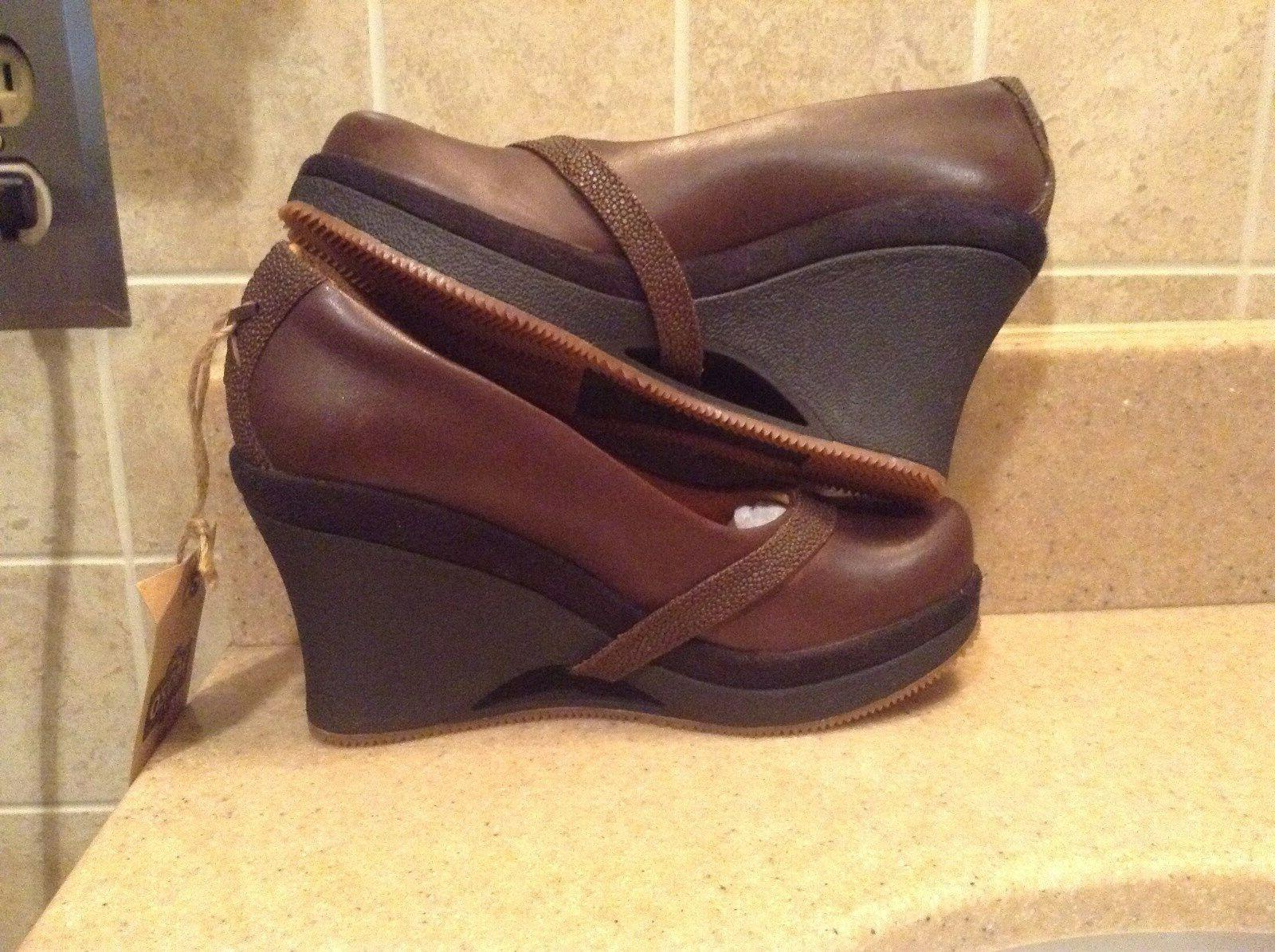 "MOZO BROWN ""FRESCO WEDGE"" COMFORT SIZE M"