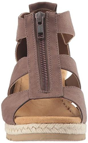 Skechers Monarchs Wedge Sandal,chocolate,8 M