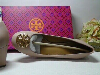 TORY Chelsea SAND Leather Wedge Size *****$278*****