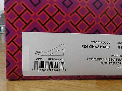TORY BURCH Chelsea SAND Wedge Size 7 *****$278*****
