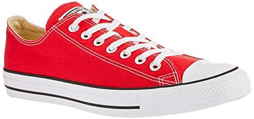 star chuck taylors ox red