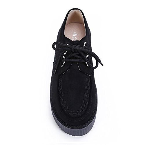 Women's Shoes Lace-up Oxford B US