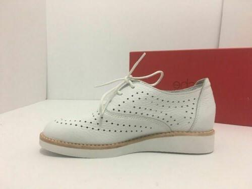 ARCHE Dansao Heel Wedge White Leather 36 / US M