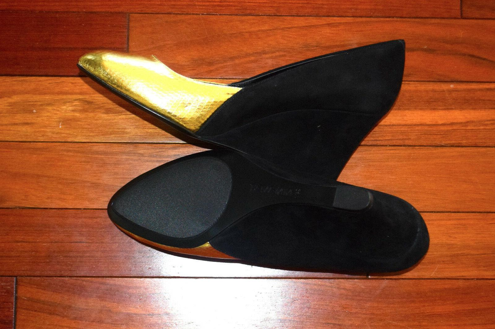 Nine West Womens Wedge Pump Shoes Sz 9.5