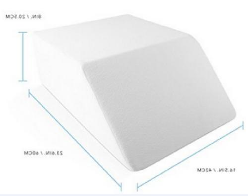 Elevating Wedge Pillow Knee Bed