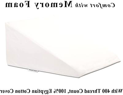 extra large bed wedge pillow 33 x