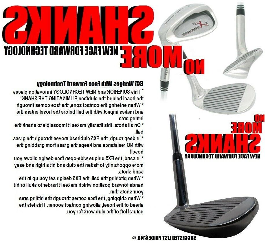 EXTREME FACE FORWARD 52 56 Clubs