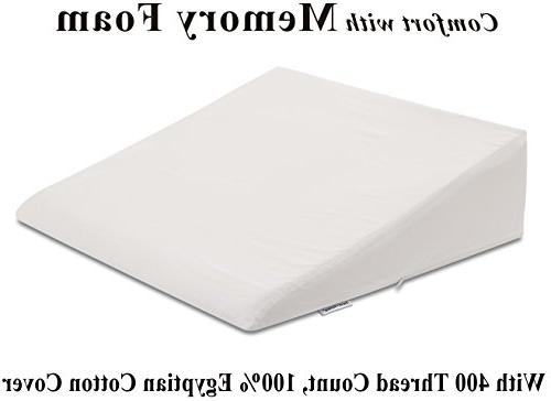 foam wedge bed pillow
