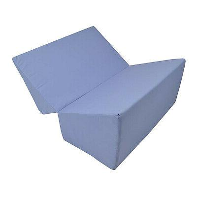 Folding Bed Angled Firm Cushion, Removable