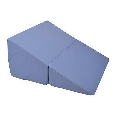 folding bed wedge angled firm foam triangle