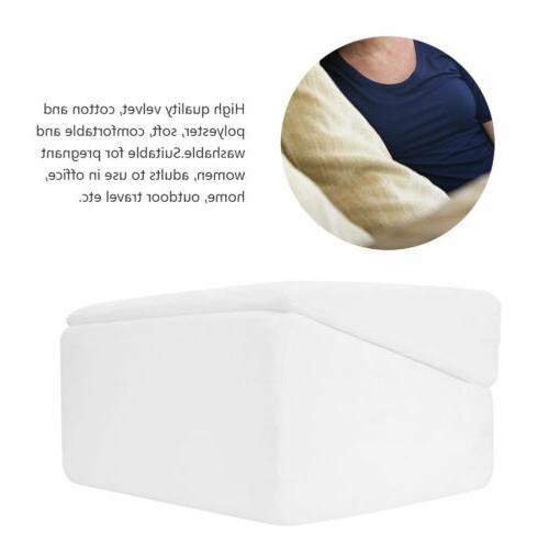 Folding Foam Pillow Bamboo for Reading Acid Reflux