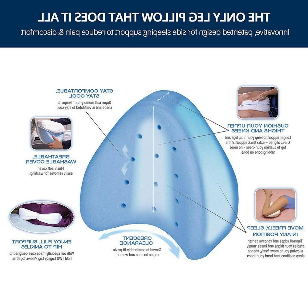 Faroot <font><b>Foam</b></font> Leg Ease Sleeping Cooling Pain Knee Cover Back Hips Air