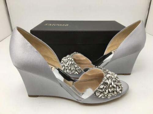 Toe Wedge Silver Size 9.5