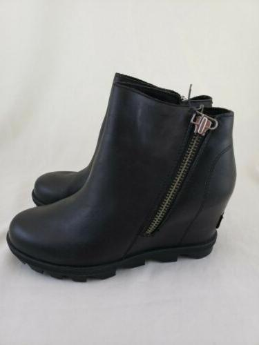 Sorel Of Wedge Zip Black 6