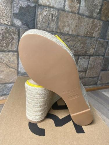 Kate Spade Tenley Laser Cut Leather Wedge Size 6