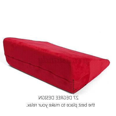 Large Bed Pillow Leg Elevated Support Cushion Sleeping