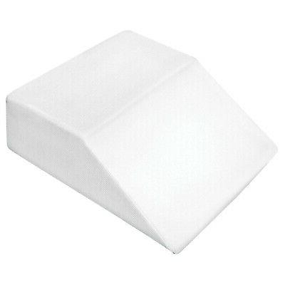 Support Plus Wedge Pillow - Memory Foam w/Washable Cover