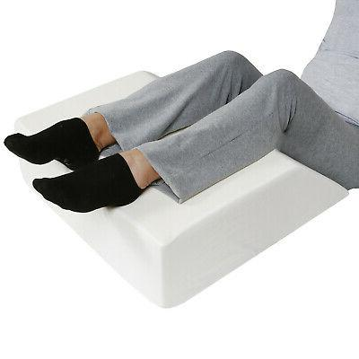 Support Wedge Pillow Memory Foam Cover