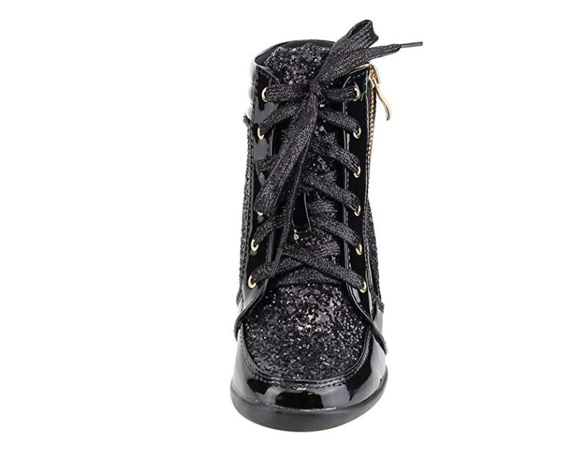 Forever Link Peggy-44 Women's Fashion Lace-Up Wedge Sneaker