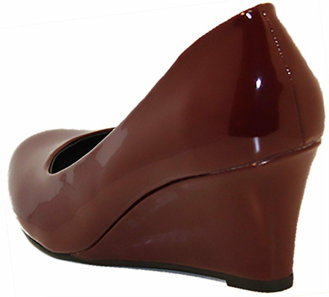 Forever Link Women's Pumps - WINE PAT - Size 7.5