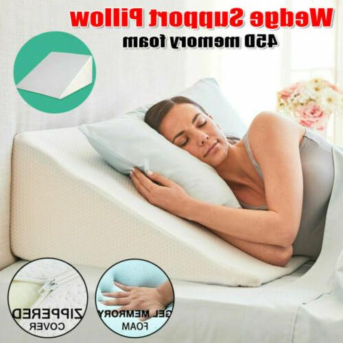 Memory Pillow Leg Head Support Orthopedic For Sleeping
