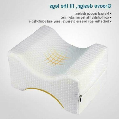 Bed Wedge Pillow Memory Foam Positioner Elevate Support Back Pain Rest