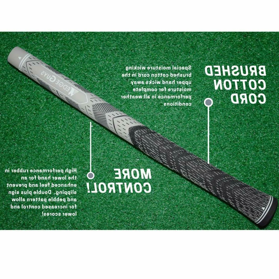 Wedge Guys MM Multi Compound Golf Grip - Black and Grey All