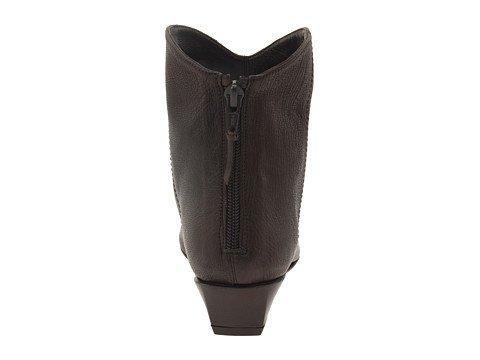 Stuart Brown Leather Wedge Heel Ankle Boot, M