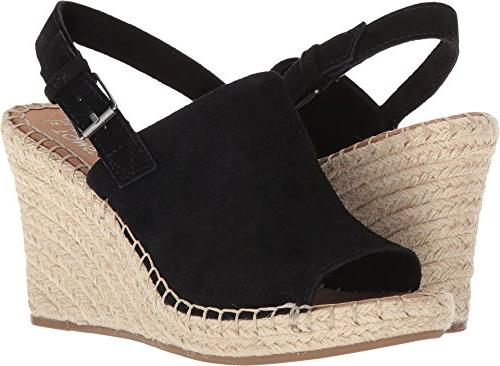 monica wedges black suede 10011842 women s