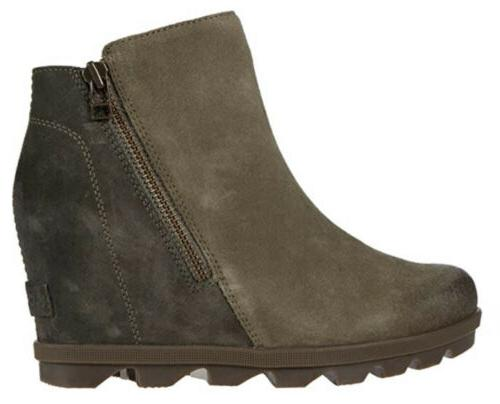 NEW JOAN ARCTIC WEDGE Quarry Gray BOOTS WOMEN'S