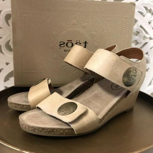 new metallic wedge sandal carousel 2 taupe