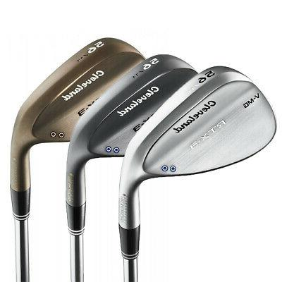 new rtx 3 wedge steel shaft rtx3