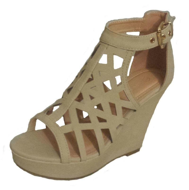 NEW WEDGE OPEN TOE SANDAL SEXY SHOE