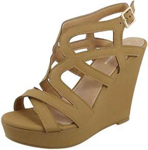 NEW HIGH WEDGE GLADIATOR STRAPPY OPEN TOE SHOE