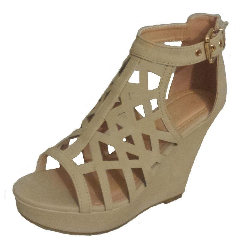 NEW WEDGE OPEN TOE SANDAL GIRL SHOE