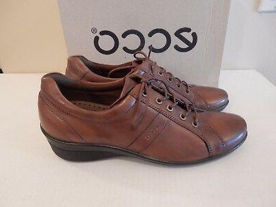 NEW ECCO Corse Lace-Up Leather Patent