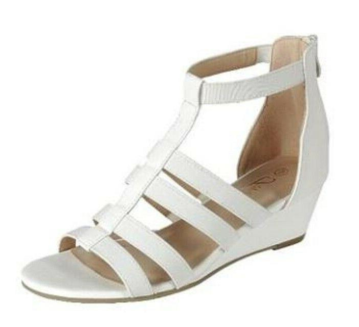 New strappy wedge